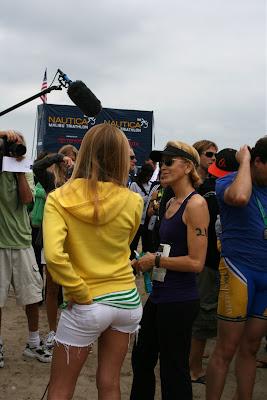 Felicity Huffman Zuma Beach Triathlon