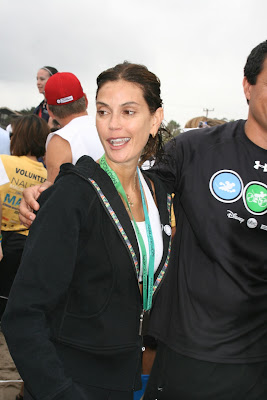 Teri Hatcher after Malibu Triathlon
