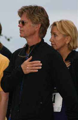 William H Macy and Felicity Huffman support Malibu Triathlon