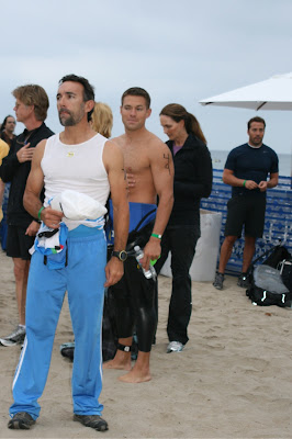 The Bachelor Andy Baldwin at Malibu Triathlon