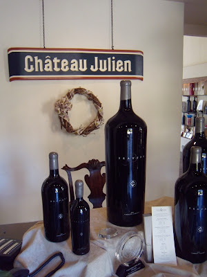 Chateau Julien wine tasting Carmel Valley