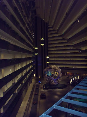 Hyatt Regency lobby view