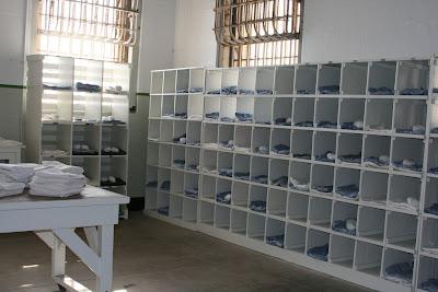 Alcatraz laundry room