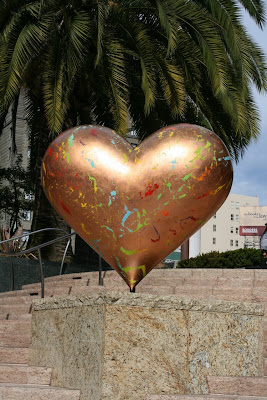 Always Hope Michael Lownie Heart sculpture
