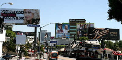 Sunset Boulevard billboard