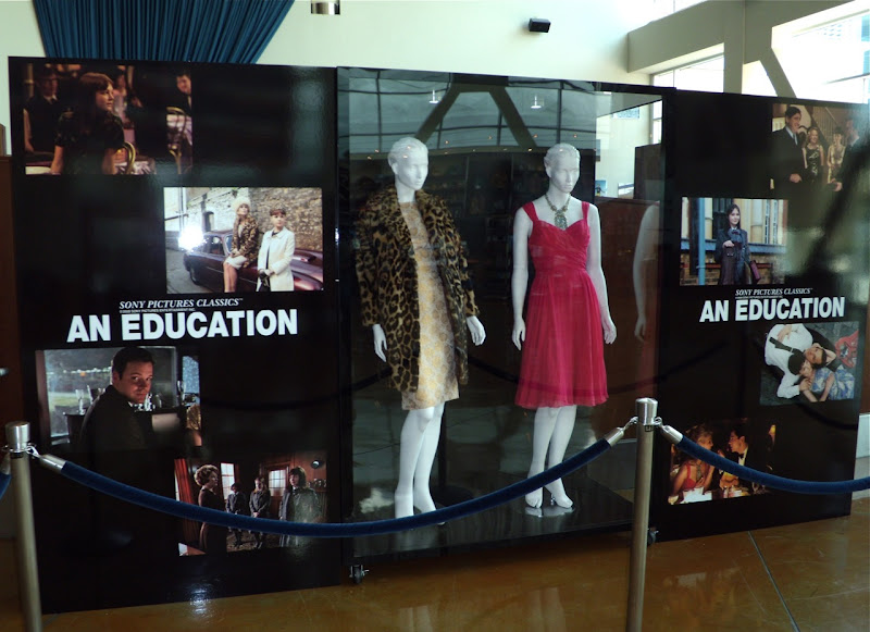 An Education movie costume exhibit