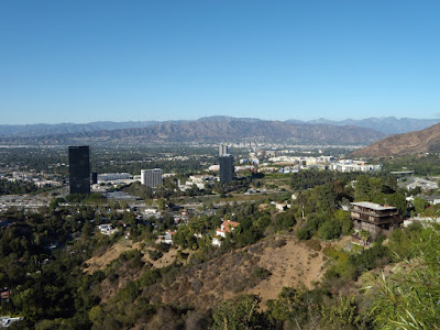 Universal City Overlook view of San Fernando Valley