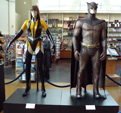 Silk Spectre II and Nite Owl II Watchmen movie costumes