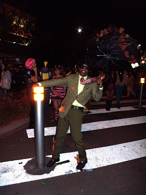Blown away at West Hollywood Halloween Carnaval 2009