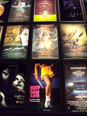 ArcLight Sherman Oaks wall of horror posters
