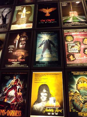 ArcLight Sherman Oaks cinema wall of horror