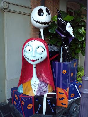 Disneyland Halloween characters