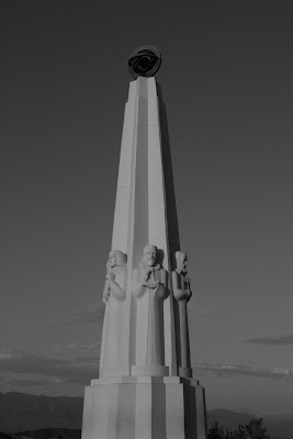 Astronomers Monument at Griffith Observatory
