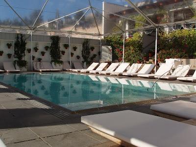Mondrian poolside
