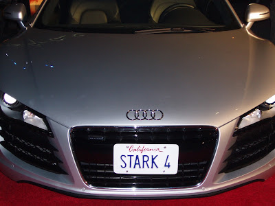 Tony Stark's Audi from the Iron Man film