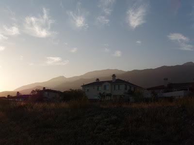 Alta Loma below the San Gabriel Mountains