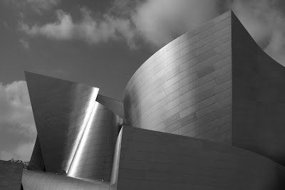 Walt Disney Concert Hall in mono