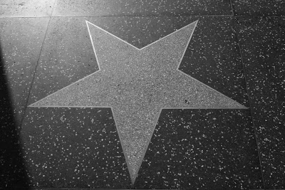Blank Hollywood Star on Walk of Fame