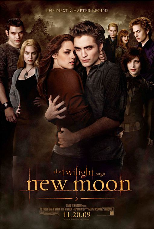 The Twilight Saga New Moon film poster