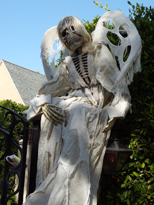 Spooky Halloween angel