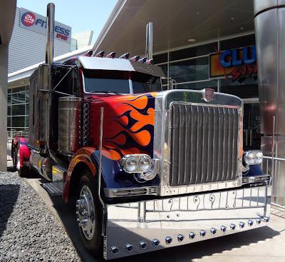 Transformers 2 Optimus Prime Autobot truck