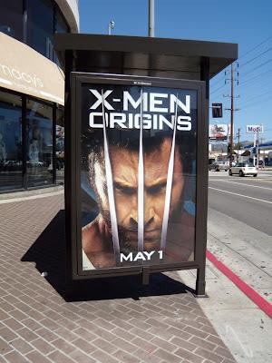 X-Men Origins Wolverine film poster
