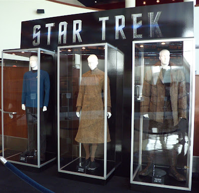 Actual Star Trek costumes