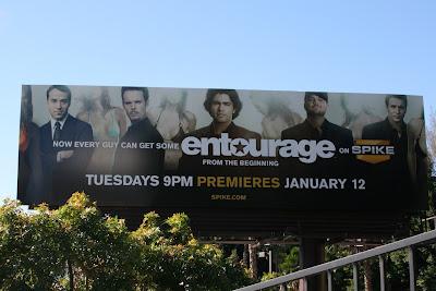 Entourage Spike TV billboard