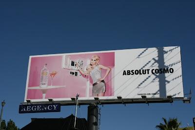 Absolut Vodka Cosmo billboard