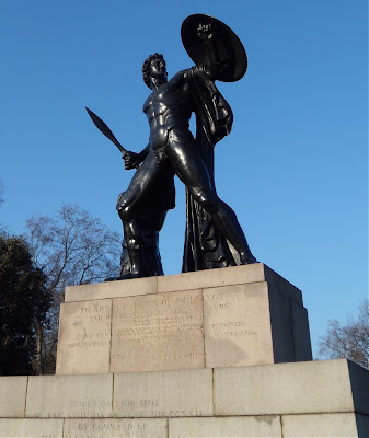 Achilles statue Wellington Memorial London