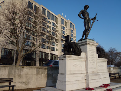 Machine Gun Corps David sculpture Hyde Park Corner