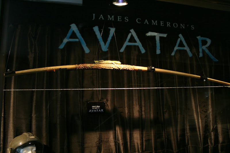 Avatar movie prop Jake Sully's bow