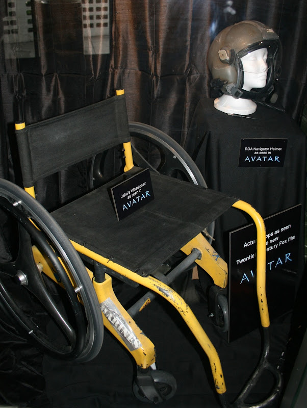 Avatar movie prop Jake's wheelchair