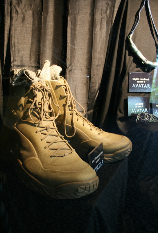 Avatar film props Jake's boots