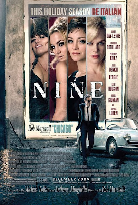 Movie poster for Nine