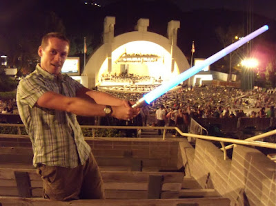 John Williams Hollywood Bowl concert lightsabers