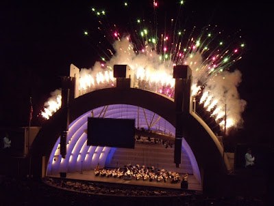Hollywood Bowl fireworks spectacular