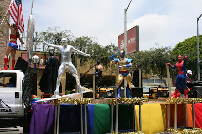 WEHO Gay Pride superhero float 09
