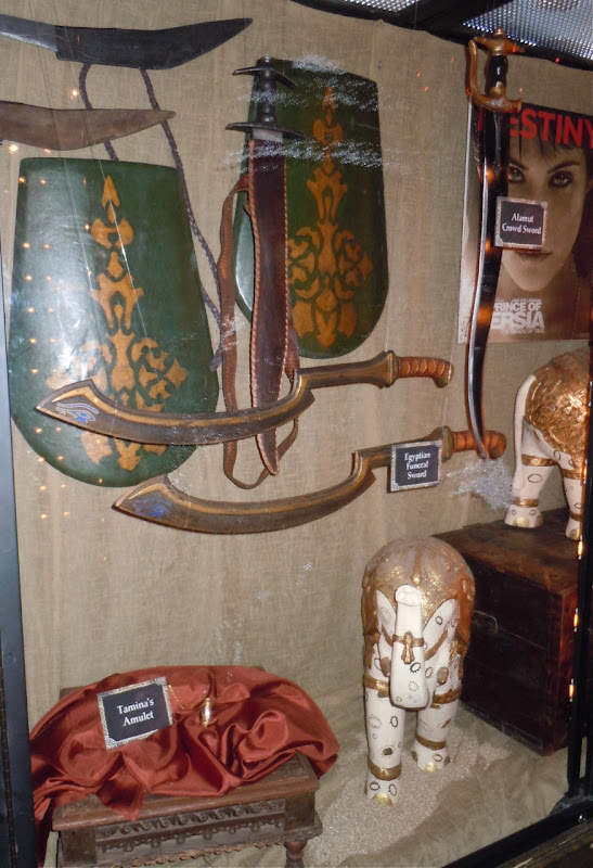 Movie props from Prince of Persia