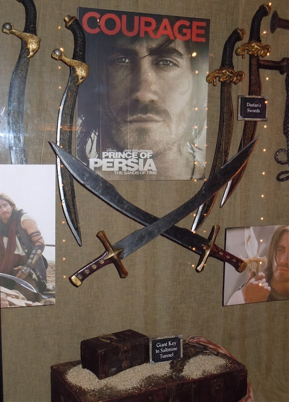 Prince of Persia Dastan's swords