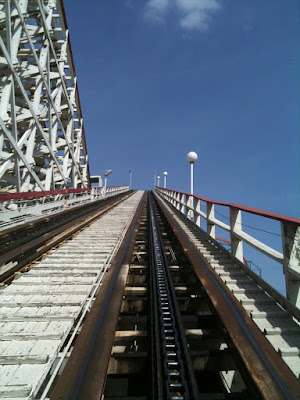 Colossus rollercoaster Magic Mountain