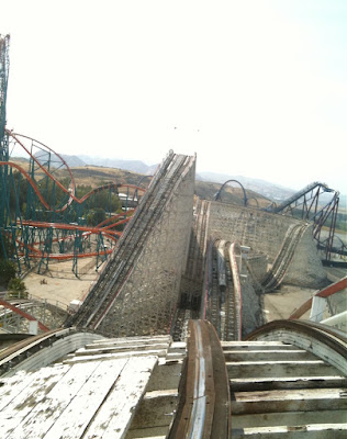 Riding Colossus Magic Mountain