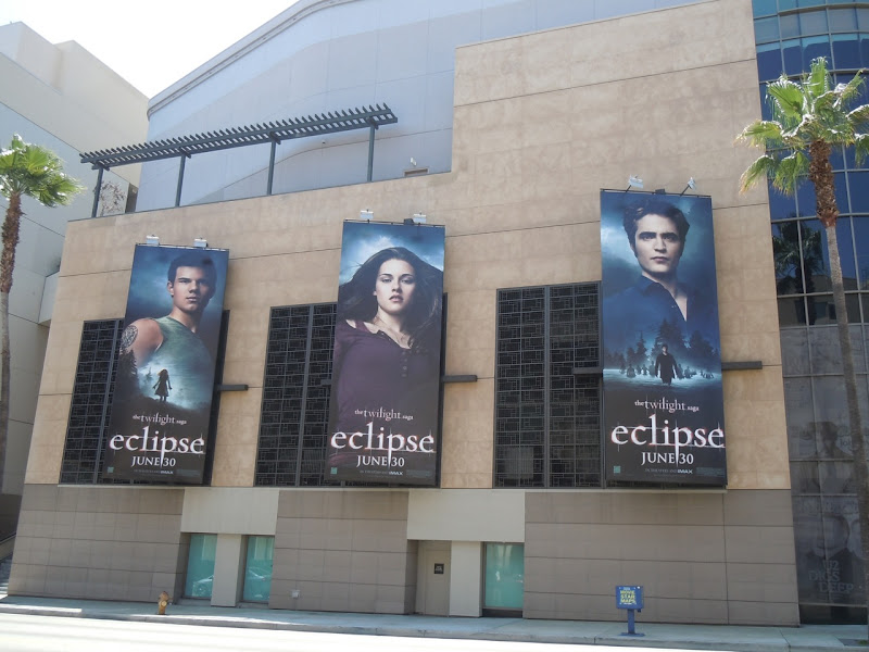 Twilight Eclipse movie billboards