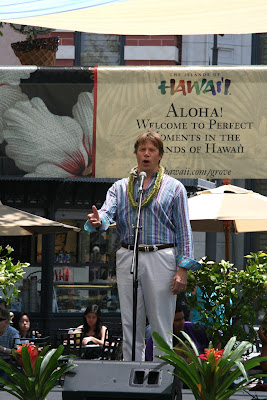 Rod Gilfry South Pacific Musical star at The Grove