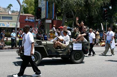 Congresswoman Judy Chu LA gay Pride 2010