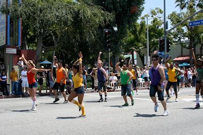 Orange County Dancers WEHO Pride 2010