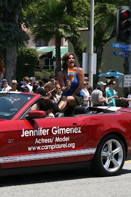Jennifer Gimenez West Hollywood Pride 2010