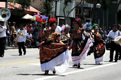West Hollywood Pride Parade Bienestar dancers 2010