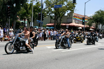 West Hollywood Gay Pride Bikers 2010