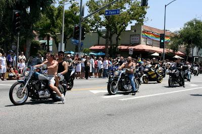 West Hollywood Gay Pride Bikers 2010